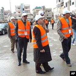 阿拉伯國家聯盟觀察員在敘利亞考察