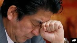 """Thủ tướng Nhật Bản Shinzo Abe nói Tokyo """"đã làm hết sức mình để vận động cho ông Kenji Goto được phóng thích""""."""