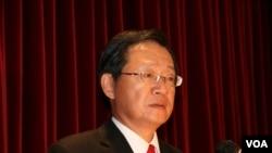 台灣駐美副代表李澄然 (美國之音鐘辰芳)