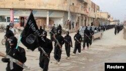 endamên Dewleta Îslamî ya Îraq û Şam li Tel Abyad