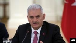 土耳其总理比里尼·耶尔德里姆