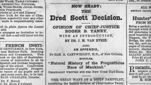 Many Southerners approved the decision. But northern abolitionists spoke strongly against it.
