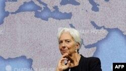 """Direktorka MMF-a Kristin Lagard na panelu """"Izazovi za globalnu ekonomiju"""", u londonskom institutu """"Četem Haus"""", 9. septembar 2011."""