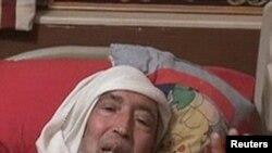 Abdelbaset Ali al-Megrahi, akiwa katika siku zake za mwisho baada ya hali yake ya afya kuzorota haraka.