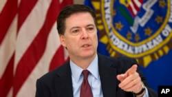 제임스 코미 미 연방수사국 (FBI) 국장. (자료사진)