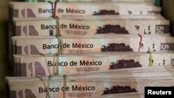 Volatilitas nilai tukar mata uang peso Meksiko terus berlanjut (foto: ilustrasi).