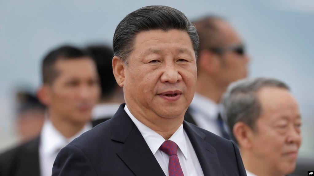 中����家主席�近平在香港�C�鲋v� (2017年6月29日 �O果日�笠��l截�D)