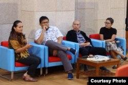 Diskusi Wabah, Epidemi dan Pandemi di Sekitar Kita, Jumat , 28 Februari 2020 di FKKMK UGM, Yogyakarta. (Foto: Humas UGM)