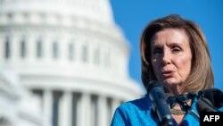 امریکی ایوان نمائندگان کی اسپیکر ننسی پیلوسی نے، سینیٹ میں منظوری کے بعد اب بل ایوان نمائندگان میں ووٹنگ کے لیے بھیج دیا گیا ہے۔ 30 ستمبر 2021