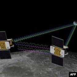 NASA'nın Uyduları Ay Yörüngesinde