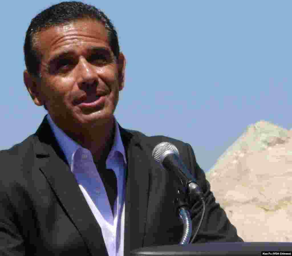 洛杉矶市长维拉莱戈沙