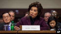 Elaine Chao, asumirá el Departamento de Transporte en reemplazo del saliente secretario de la administración Obama, Anthony Foxx.