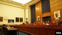 美国国会众议院军委会2020年2月11日召开听证会讨论与中俄的大国竞争(美国之音黎堡摄)