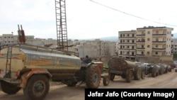 Bajarvanîya Efrînê bi tankeran avê dide rûniştvanan