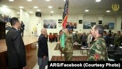 رئیس جمهور غنی: قوای مسلح جایی برای سیاست و تفرقه ندارد.