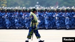 Burma Observes Armed Forces Day