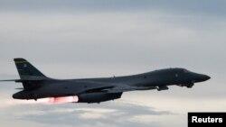 """Літак B-1b """"Лансер"""" ВПС США"""