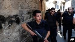 افسران پلیس ترکیه در عملیات امنیتی در دیار بکر