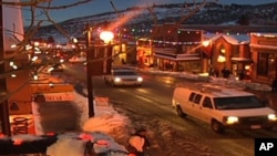 The quaint town of Park City in Utah is home to The Sundance Film Festival