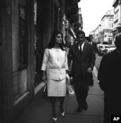 دالیدا و همسرش لوسین موریس در رم، ایتالیا