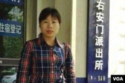 杜斌的妹妹杜繼榮(網絡截圖)