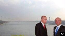 Berham Salih û Recep Tayyîp Erdogan