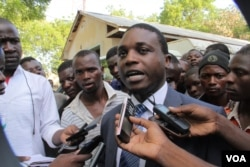 Aniva's lawyer, Michael Goba Chipeta, says he will appeal against both conviction and sentencing. (L. Masina for VOA)