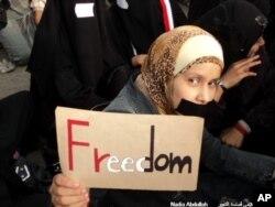 Arab ayollari erkinlik va adolat talab qilmoqda