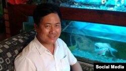 Nhà hoạt động Lưu Văn Vịnh. (Ảnh: Facebook Vịnh Lưu)