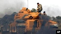 ترکیه از نه روز پیش منطقه مرزی کرد نشین را هدف حملات قرار داده است