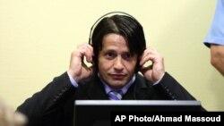 Naser Orić za vreme izricanja presude u Haškom tribunalu, 30. juna 2006.
