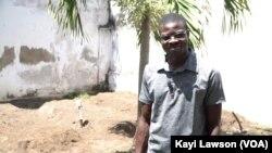 Kossi Kouduago, de la communauté Woelab, Lomé, le 3 septembre 2019. (VOA/Kayi Lawson)