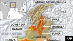 У північно-західному районі Пакистану продовжуються бомбові атаки