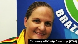 Zimbabwe Olympic Swimmer, Kirsty Coventry
