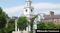 "Sekolah asrama ""Phillips Academy"" di kota Andover, Massachusetts, AS (Foto: Wikipedia)."