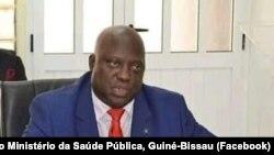 António Deuna, médico e ministro da Saúde da Guiné-Bissau