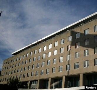 Kantor Deplu AS di Washington DC (foto: dok). Deplu AS menyampaikan kekecewaan atas keputusan China menghapus acara tanya jawab online.