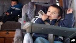 La mayor parte de los asientos para niños son considerados seguros.