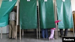 Elecciones municipales en la ciudad de Valparaiso, unos 121 kms. al noroeste de Santiago, el domingo 28 de octubre de 2012.