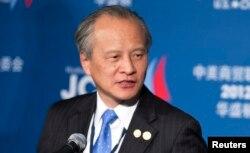 추이톈카이 미국 주재 중국대사 (자료사진)