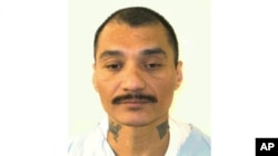 FILE - This undated photo provided by the Virginia Department of Corrections shows inmate Alfredo Prieto.