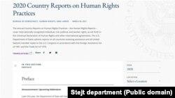 Izveštaj Stejt departmenta o ljudskim pravima (Foto: Public domain)