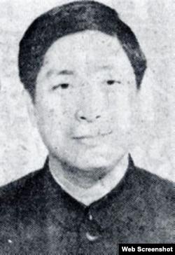 据张茂林说,俞强声叛逃到美国后,娶了一名台湾女子,改姓张。(网络图片)