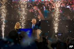 İsrailin baş naziri Benyamin Netanyahu və həyat yoldaşı Sara.