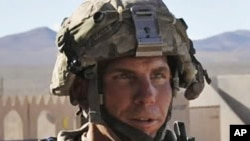 美國士兵羅伯特貝爾斯(資料照片)