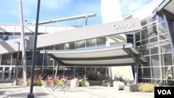 Markas Google di Silicon Valley, California. (VOA/Vina).