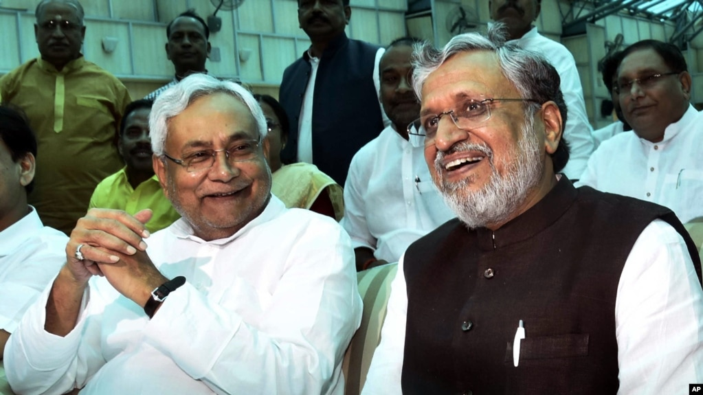 Image result for In big win for Modi, Nitish Kumar teams up with his ruling BJP