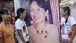 آنگ سانک سوچی، رهبر جنبش دموکراسی خواهی برمه، آزاد شد