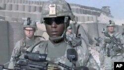 আফগানিস্তানে যুক্তরাষ্ট্রের সেনাবাহিনী ।