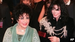 Elizabeth Taylor i Michael Jackson